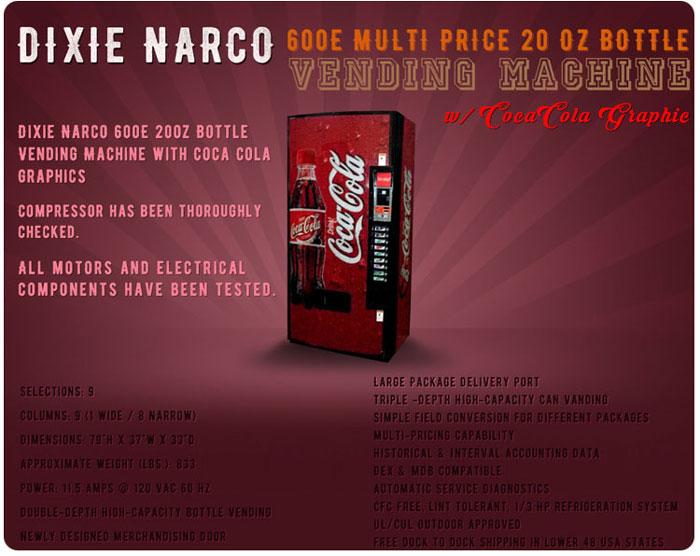 Dixie narco parts manual.