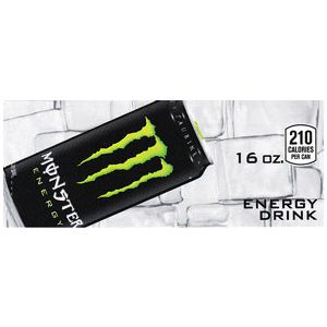 Monster Energy can on ice small size flavor strip