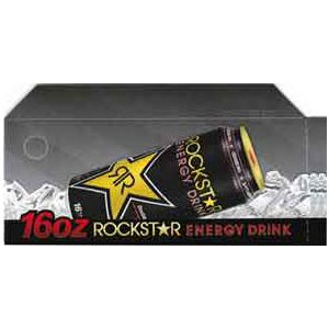 Rock Star original can on ice small size flavor strip