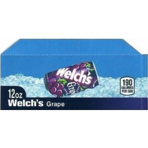 Welch's Grape small size flavor strip