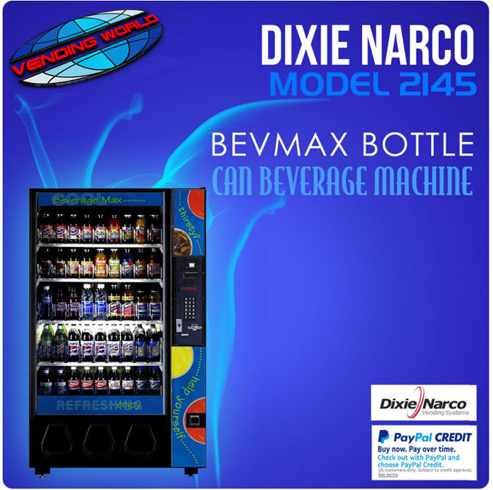 Dixie Narco Model 2145 Bevmax Beverage Machine